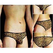 曠野騎士豹紋性感三角內褲,貨號:NO.533048,價格:135