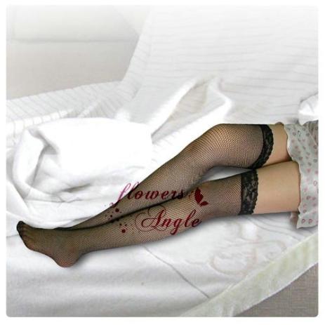 性感大腿網襪 - 神秘野性黑﹝小網襪﹞【1000元滿額回饋禮】-商品詳細圖-2