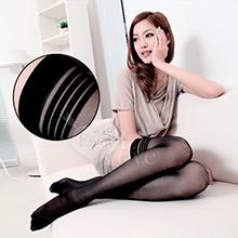 fashion 超彈性透明性感長筒絲襪﹝黑色款﹞,貨號:NO.530644,價格:69