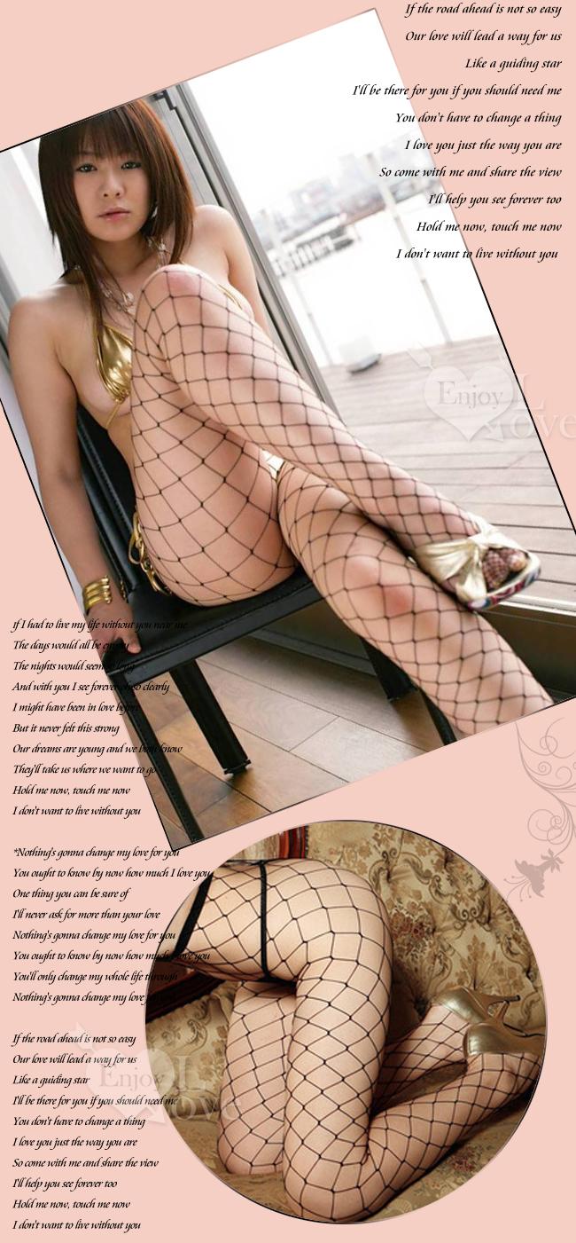 愛入情網!大網格性感褲襪﹝黑﹞【1000元滿額回饋禮 】-商品詳細圖-1