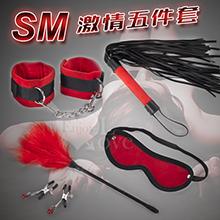 SM 激情五件套﹝舒適絨布材質﹞,貨號:NO.508410,價格:390