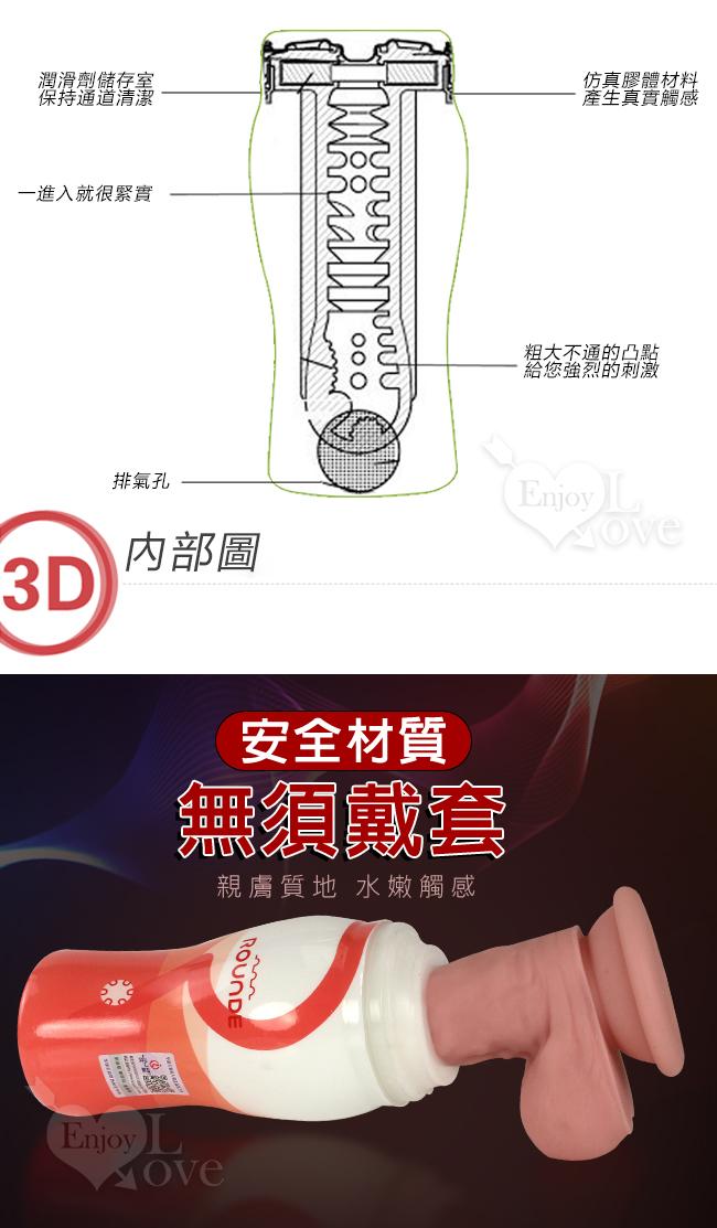 東方歐巴杯 ‧ 3D構造真空自慰杯﹝可重複使用﹞-商品詳細圖-2