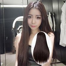 成人娃娃裝扮假髮 ‧ 中分長直假髮 / 深棕色,貨號:NO.504105,價格:220