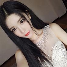 成人娃娃裝扮假髮 ‧ 中分長直假髮 / 黑色,貨號:NO.504106,價格:220